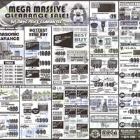 Mega Discount Store TVs, Gas Hobs & Other Appliances Offers 31 Jan - 1 Feb 2015