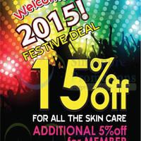 Read more about Missha 15% Skin Care Festive Deals 2 - 10 Jan 2015