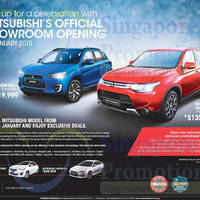 Read more about Mitsubishi ASX & Outlander Offers 23 Jan 2015