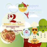 Munch Saladsmith $2 Rosti 1-Day Promo @ Orchard Gateway 1 Feb 2015