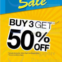 Read more about NET Buy 3 & Get 50% Off 30 Jan 2015