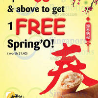 Read more about Old Chang Kee Spend $5 & Get Free Spring'O 9 Feb - 9 Mar 2015