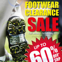 Read more about Golf Bargains Footwear Clearance Sale 16 Jan - 1 Feb 2015