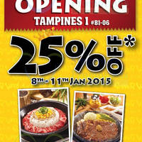 Read more about Pepper Lunch 25% Off Tepan Main Dishes Opening Promo @ Tampines One 8 - 11 Jan 2015