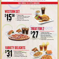 Read more about Pizza Hut Weekend Dine-In Delights 2 - 27 Jan 2015