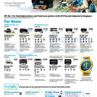 Read more about HP Printers & Scanners Promotion Offers 1 - 31 Jan 2015