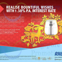 Read more about RHB 1.38% p.a. 6-mth Fixed Deposit Interest Rate Offer 22 Jan - 28 Feb 2015