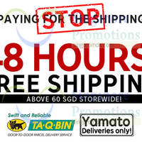 Rakuten Free Shipping 48hr Promo 30 - 31 Jan 2015