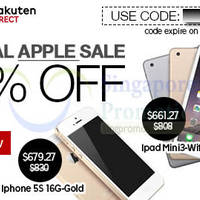 Read more about Rakuten 19% OFF Tech Products (NO Min Spend) 1-Day Coupon Code 19 Jan 2015