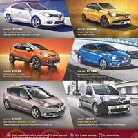 Renault Cars Offers 31 Jan 2015