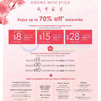 Robinsons Lunar New Year Promotion Offers 29 Jan - 8 Feb 2015