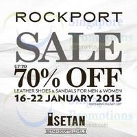 Read more about Rockport Sale @ Isetan Scotts 16 - 22 Jan 2015