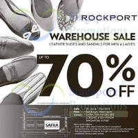 Rockport Warehouse Sale 31 Jan - 1 Feb 2015