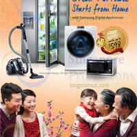 Read more about Samsung Vacuum Cleaners, Ovens, Fridges & Washers Offers 16 Jan - 15 Feb 2015