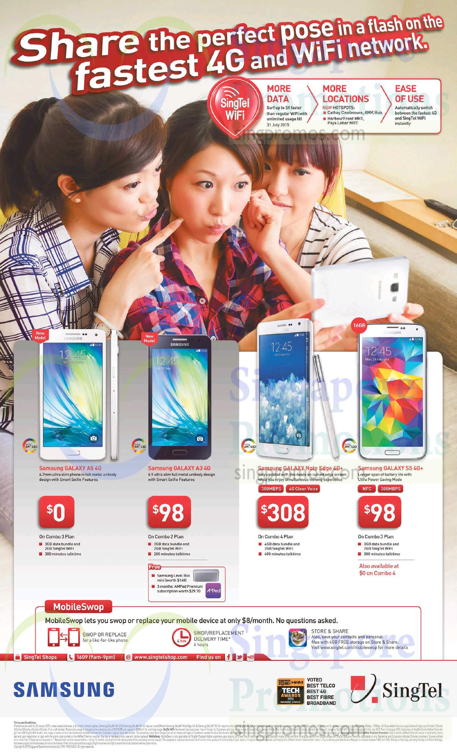 Samsung Galaxy A5, Samsung Galaxy A3, Samsung Galaxy Note Edge, Samsung Galaxy S5