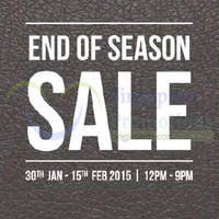 Scholl End Of Season Sale @ Bugis Cube & Bedok Point 30 Jan - 15 Feb 2015