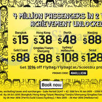 Read more about Scoot From $15 Promo Fares 15 - 17 Jan 2015