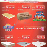 Read more about Sea Horse & Hecom Furniture Offers 5 - 19 Jan 2015