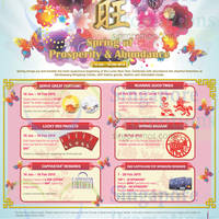 Read more about Sembawang Shopping Centre Spring of Prosperity Activities & Promotions 16 Jan - 18 Feb 2015