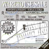 Senmark Branded Apparel Warehouse Sale 23 Jan - 1 Feb 2015