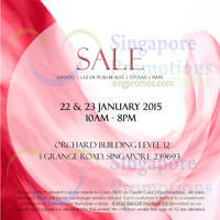 Read more about Shiseido SALE @ Orchard Building 22 - 23 Jan 2015