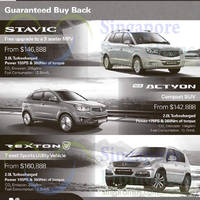 Read more about Ssangyong Actyon, Stavic & Rexton Offers 10 Jan 2015