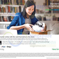 Read more about Standard Chartered New Refreshed SingPost Platinum Visa Credit Card 29 Jan 2015