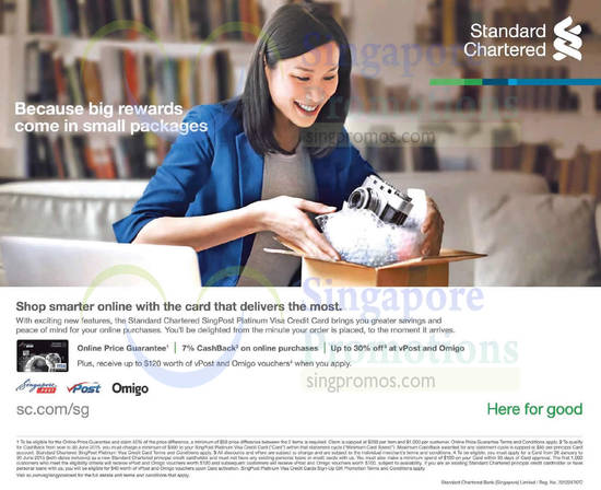standard chartered credit card application status singapore
