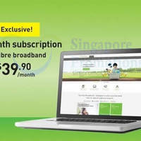 Read more about StarHub $39.90/mth 200Mbps Fibre Broadband Online Promo 14 - 20 Jan 2015