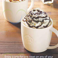 Read more about Starbucks Buy 1 Get 1 FREE Beverages Promo 13 - 15 Jan 2015