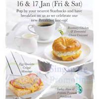Read more about Starbucks Buy Grande-Sized Drink & Get FREE Breakfast Sandwich 16 - 17 Jan 2015