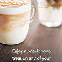 Read more about Starbucks Buy 1 Get 1 FREE Beverages Promo 6 - 8 Jan 2015