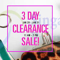 Read more about Style Tribute 3 Day Clearance Sale 29 - 31 Jan 2015