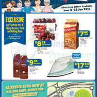 Read more about NTUC Fairprice Super Saver Catalogue, Wines & More Offers 15 - 29 Jan 2015