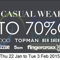 Read more about Takashimaya Men's Casual Wear Sale 22 Jan - 3 Feb 2015