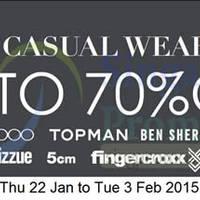 Read more about Takashimaya Men's Casual Wear Sale 22 Jan - 3 Feb 2015
