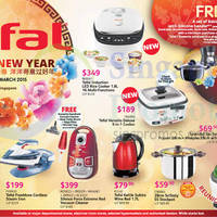Tefal Kitchen Electronics Offers 30 Jan - 1 Mar 2015