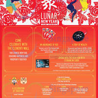 Read more about The Clementi Mall CNY Promotions & Activities 23 Jan - 18 Feb 2015