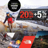 Read more about The North Face 20% OFF Storewide Promo 19 - 25 Jan 2015