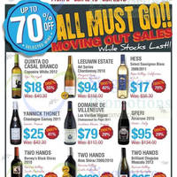 Read more about Straits Wine Company Moving Out Sale @ East Coast 8 - 18 Jan 2015