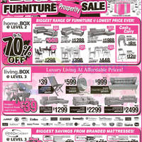 (Till 18 Jan) Mattresses, Furniture, Orthorest, Bia ...