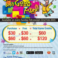 Read more about Timezone 100% Extra Double Dollar Promo (Sundays) 1 - 15 Feb 2015