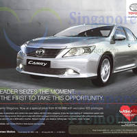 Read more about Toyota Camry Elegance Offer 10 Jan 2015
