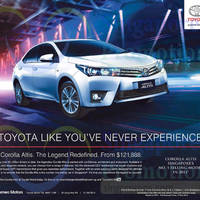 Read more about Toyota Corolla Altis Features & Offer 24 Jan 2015