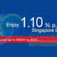 Read more about UOB 1.10% p.a. 13-mth Fixed Deposit Promo 2 - 31 Jan 2015