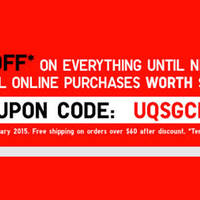 Read more about Uniqlo 10% OFF Storewide Online Promo 10 - 15 Jan 2015