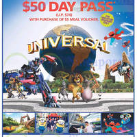 Read more about Universal Studios $55 Day Pass Promo 9 Jan - 18 Feb 2015