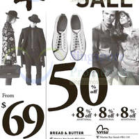 Evisu, Camper, Bread & Butter, True Religion & More Sale 30 Jan 2015