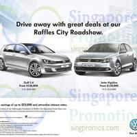 Read more about Volkswagen Golf & Jetta Highline Roadshow @ Raffles City 10 - 14 Jan 2015