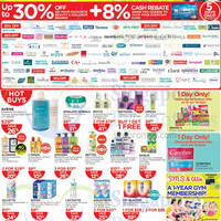Read more about Watsons Up To 30% Off Selected Brands 8 - 12 Jan 2015